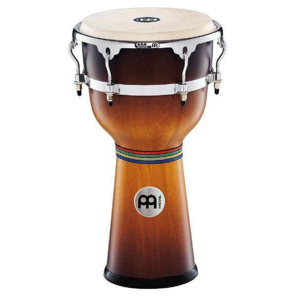Meinl Percussion 12 inch Floatune Series Wood Djembe - Gold Amber - DJW3GAB-M
